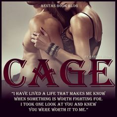 CAGE (Corps Security #2) by Harper Sloan- I am so reading this soon, Axel the first one was Amazing!!