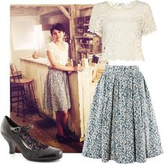 Mary Margaret inspired outfit.