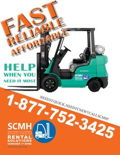 Brand New Equipment, 75 Years of Reliable Service. http://www.scmh.com/rental/forklift-rentals-los-angeles/