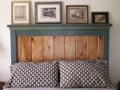Queen Farmhouse Headboard | Do It Yourself Home Projects from Ana White