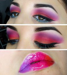 Eye makeup demos