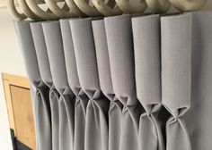 How to make Lined Goblet Pleat Curtains - by Sew-Helpful. Full Tutorial, FREE online instructions and advice from a curtain making workroom. Make your own beautiful soft furnishings, it's easier when a professional shows you how.