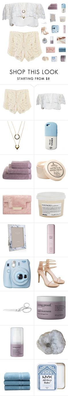 """EVERY HEARTBREAK MAKES IT HARD TO KEEP THE FAITH"" by ughtara ❤ liked on Polyvore featuring Glamorous, WithChic, D.R. Harris & Co Ltd., Davines, Addison Ross, Fujifilm, Akira, Living Proof, Waterworks and NYX"