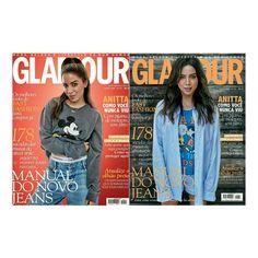 #Anitta bem linda nas capas da edição de Julho da  @glamourbr. • • • • • • • • • • • • • • • • • • • • • • • • • • • • •  @anitta well beautiful in the covers of the July issue of @glamourbr.