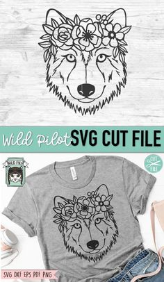 Flower Svg, Flower Skull, Wolf Face, Cat Face, Skeleton Photo, Flower Crown Drawing, Flower On Head, Cactus Vector, Animal Faces