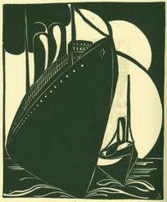 woodcut print - Joris Minne
