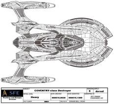 Ships of Star Trek ASR- UFP- COVENTRY by GhostRider2007 on DeviantArt