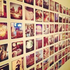 12 Ways to Photos Diy Photo, Photo Projects, Projects To Try, Print Instagram Photos, Instagram Wall, Instagram Tips, Inspiration Drawing, Photo Displays, Display Photos
