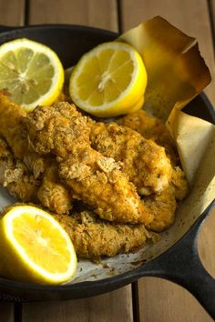 Oven Fried Chicken Tenders | Grandbaby Cakes