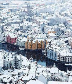 Winter wonderland in Ålesund
