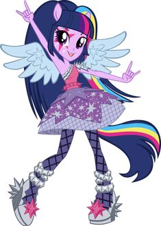 Equestria Girls Rainbow Rocks Twilight Sparkle Vector