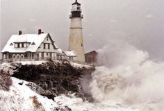 Portland Head Light  (Maine)(Lighthouse built before 1801) Our son and fam. live in Portland