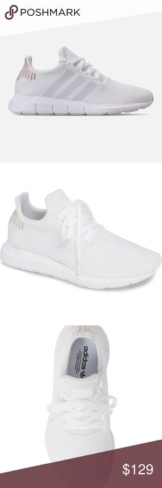 1f05570e4ef30 adidas Swift Run W Casual Sneakers adidas Swift Run Casual Sneakers 3  Stripes Womens Size 7.5
