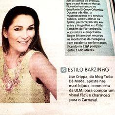 Blog Tudo dá Moda na mídia espontânea    por Lise Crippa | Blog tudo da moda       - http://modatrade.com.br/blog-tudo-d-moda-na-m-dia-espont-nea