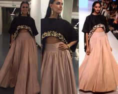Neha Dhupia in Payal Singhal #perniaspopupshop #shopnow #celebritycloset #designer #clothing #accessories