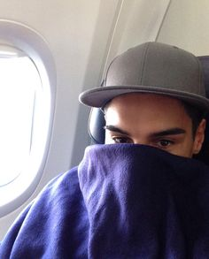 The Wanted in Mexico: Siva Tour Diary | Photos - Siva in plane