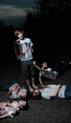 17. A picture of a band that plays your favorite song. (Chiodos)