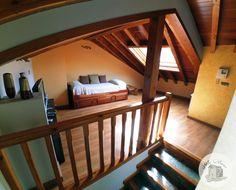 Espacio abierto abuhardillado / cama nido