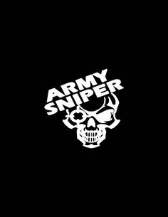 Army Sniper Decal, Sniper Car Decal,US Army Sniper Decal, Army Decals,Veteran Decal,US Veteran Car Decal, Veteran Bumper Sticker Yeti Cooler
