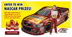 Louisiana Hot Sauce is giving away FOUR sheet metals from AJ Allmendinger's #47 car that finished P2 at the STP 500! Follow Louisiana Hot Sauce on Facebook now and enter now for your chance to win!
