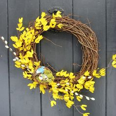Spring DIY Wreath - New House New Home New Life