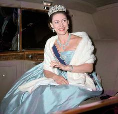 myroyalpointofview:  Princess Margaret in Turquoise