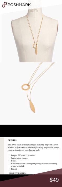 Beautiful necklace Madewell beautiful gold necklace Madewell Jewelry Necklaces