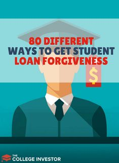 We break down a full list of over 50 different ways to get student loan forgiveness, from repayment plans, to loan forgiveness, to student loan repayment assistance programs. Apply For Student Loans, Paying Off Student Loans, Student Loan Debt, Dave Ramsey, Student Loan Repayment, Loan Money, Student Loan Forgiveness, Pret, Online College