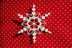 Valentine& Day is the perfect time to work up a crochet snowflake pattern with hearts. The Heart Flake is a delicate crochet pattern that can brighten the icy winter. Give this crochet snowflake to someone as a gift or pin a few up around your house Crochet Christmas Ornaments, Snowflake Ornaments, Christmas Snowflakes, Christmas Knitting, Christmas Crafts, Heart Ornament, Christmas Tree, Free Crochet Snowflake Patterns, All Free Crochet
