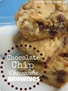 Chocolate Chip Cheesecake Brownies