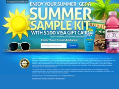 Get you summer sample kit. http://cpaempire.moremoneyeverywhere.com/ #cpa #CpaOffers #CpaMarketing
