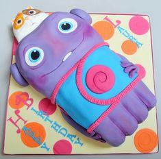 birthday Boov cake, everyones favourite alien