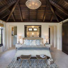 Beautiful coastal bedroom.