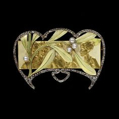 Brooch  Date: about 1903 (made)  Place: France  Artist/maker: Fouquet, Georges