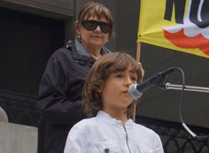 Listen To This 9 Year Old DESTROY Monsanto…Daniel Bissonet, at March against Monsanto, Vancouver