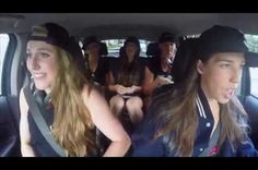 WINNERS 2016 USA Olympic Swim Team Carpool Karaoke