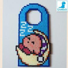 Kirby door hanger hama beads by Daria DaMatti