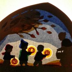 Waldorf Martinmas Festivals & Holidays inspiration Poppenatelier Barbara: A Sint Maarten-transparent tutorial Fall Crafts, Crafts To Make, Crafts For Kids, Paper Art, Paper Crafts, Waldorf Crafts, Nature Table, Lantern Festival, Fall Halloween