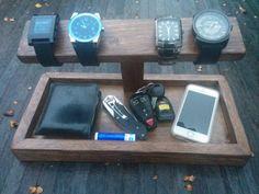 The Gentleman's Catch All Organizer phone by WilliamsonWoodwork