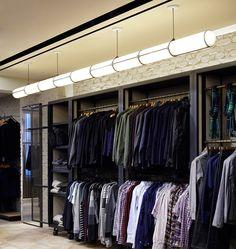 Endless Straight - 9 Units (Black) — Bergdorf Goodman, New York. Image by Joseph de Leo. Designed by Jason Miller for Roll & Hill