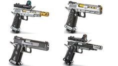 Blast past the competition with these top-notch 1911 and 2011 pistols!