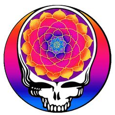 lotus Blossom stealie- This would make an awesome tattoo. Grateful Dead Tattoo, Grateful Dead Poster, Grateful Dead Quotes, Grateful Dead Wallpaper, Zentangle, Forever Grateful, Psychedelic Art, Rock Art, Vintage Posters