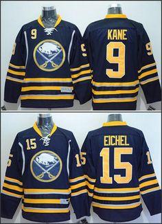Buffalo  15 Jack Eichel  9 Evander Kane 2015 American Premier Hockey Jerseys  Ice Winter c204e811f