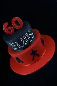 Elvis Birthay Cake