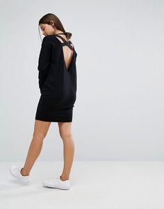 Micha Lounge | Micha Lounge Elastic Strap Sweater Dress