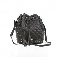 LYDC QUILTED BUCKET BAG
