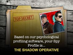 What Type Of Spy Are You? Find out now!