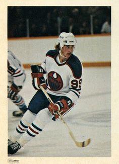 Wayne Gretzky   Edmonton Oilers   NHL   Hockey