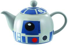R2-D2 is now a little teapot, short and stout, and he's ready to pour a nice cup of tea just for you.