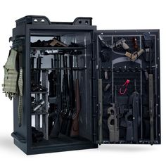 Browning AR35F tactical gun safe. Now I'll just need another safe full of ammo for all of those.